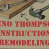 Geno Thompson Construction and Remodeling